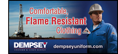 dempsey flame resistant clothing