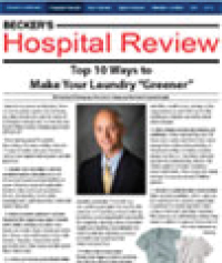 Beckers Hospital Review Online
