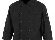 Dempsey Uniform black chef coat