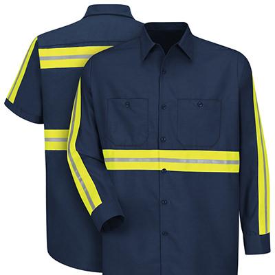 Dempsey Uniform Enhanced visibility Work Shirts