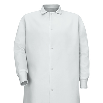 Dempsey Uniform Pocketless Knit Cuff Coat