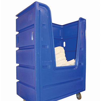 Dempsey Uniform Rolling Laundry Container