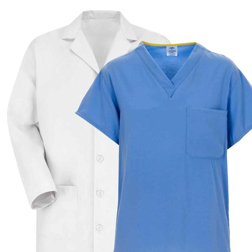 Scrubs Warm-Ups and Lab Coats
