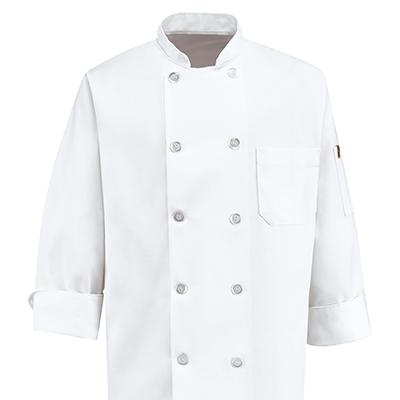 Dempsey Uniform White Chef Coat
