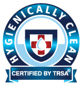 Dempsey Certified Hygienically Clean TRSA Certified