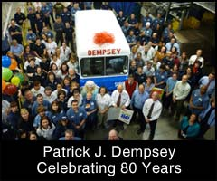 Pat Dempsey celebrated his 80th birthday