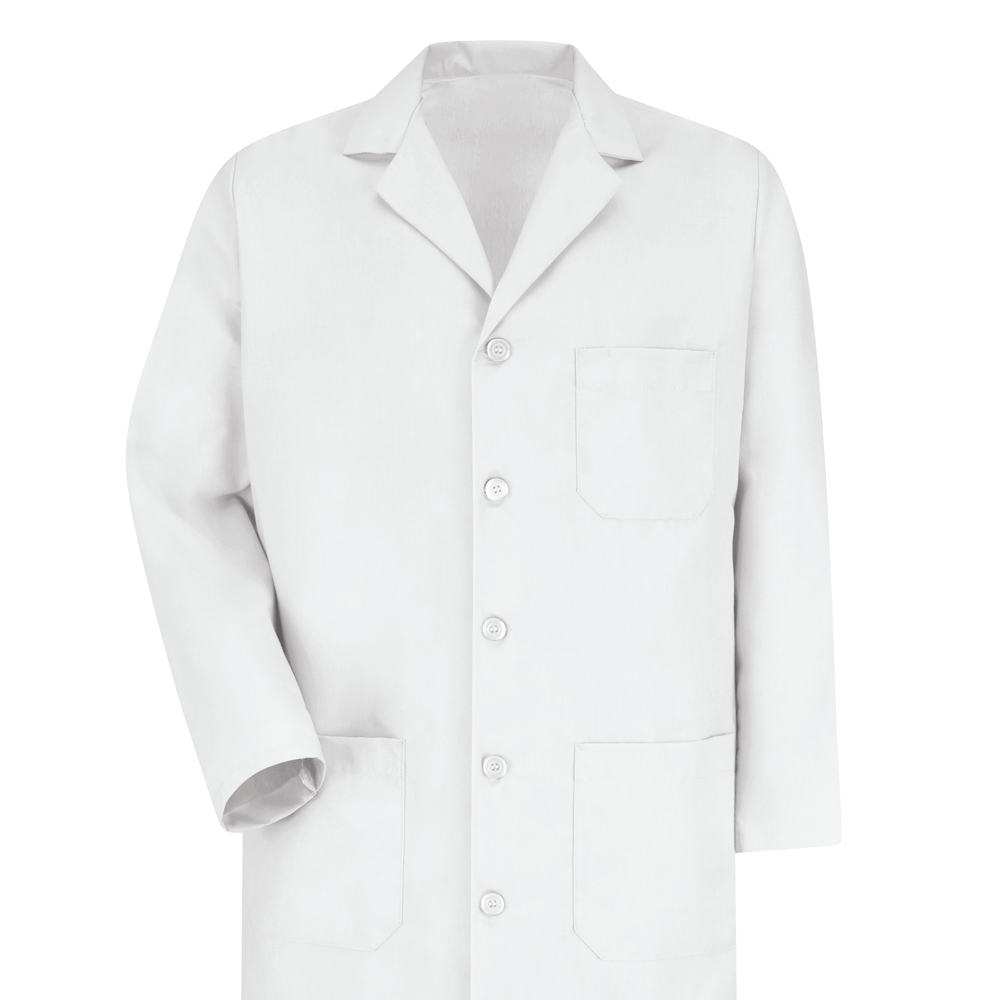Dempsey Uniform button-front lab coat
