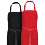 Dempsey Uniform colored bib aprons