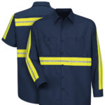 Dempsey Uniform enhanced visibility work shirts