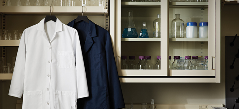 Scrubs and Lab Coats