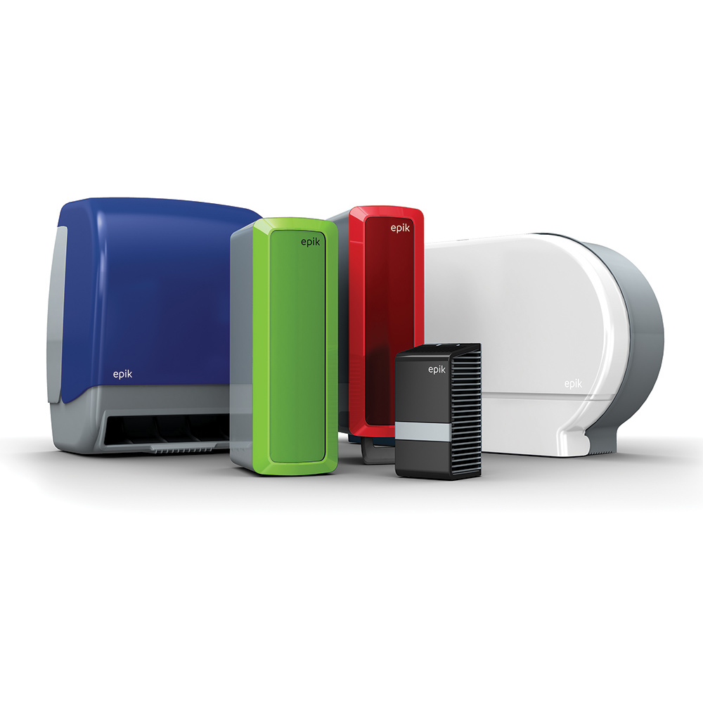 Dempsey Uniform Touch Free Paper Towel Color Matching Dispensers