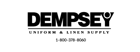 Dempsey Logo with Phone Number Sans Serif BW
