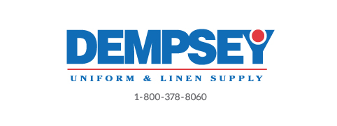 Dempsey Logo with Phone Number Sans Serif