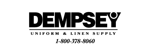Dempsey Logo with Phone Number Serif BW