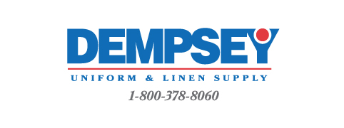 Dempsey Logo with Phone Number Serif