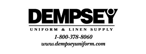 Dempsey Logo with Phone Number Website BW