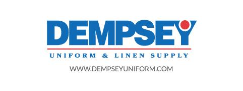Dempsey Logo with Website Sans Serif