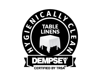 Hygienically Clean Table Linens Emblem