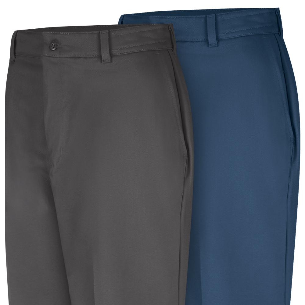 Close-up view of Dempsey Uniform 100% cotton work pants