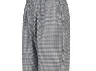 Dempsey Uniform check baggy chef pants
