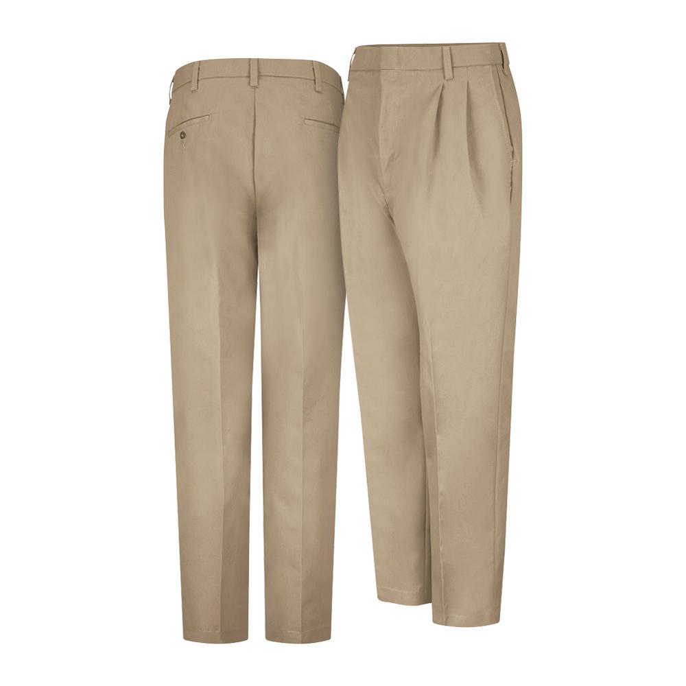 Dempsey Uniform double-pleated pants in khaki