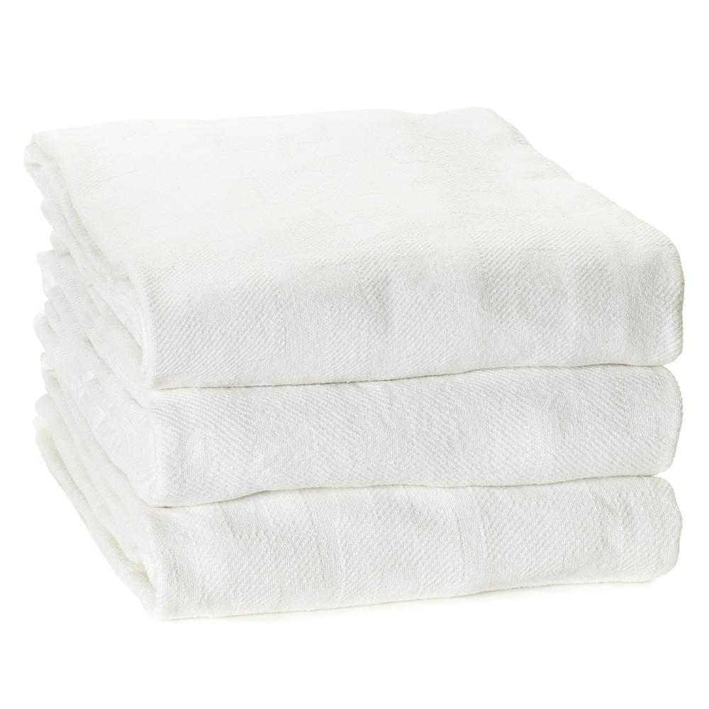 Stack of Dempsey Uniform medical linen blankets
