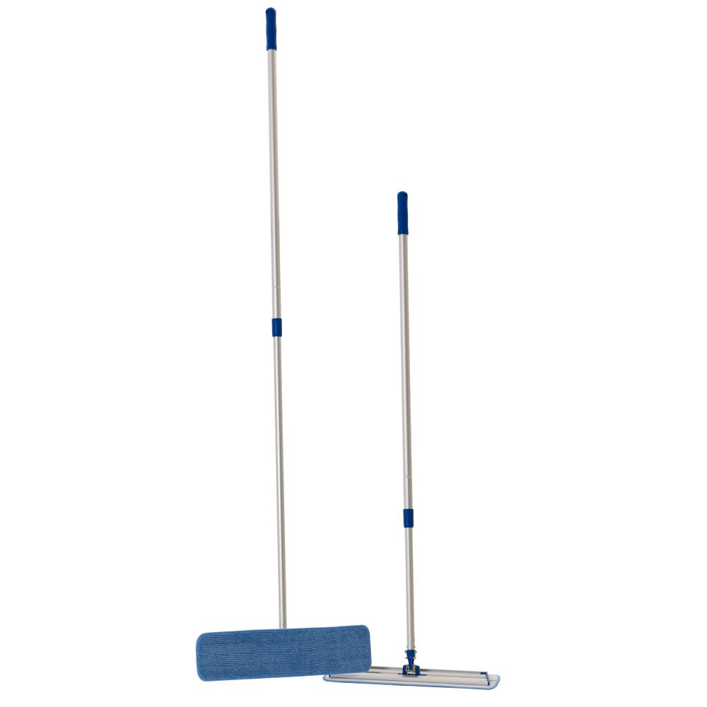 Two Dempsey Uniform microfiber mops