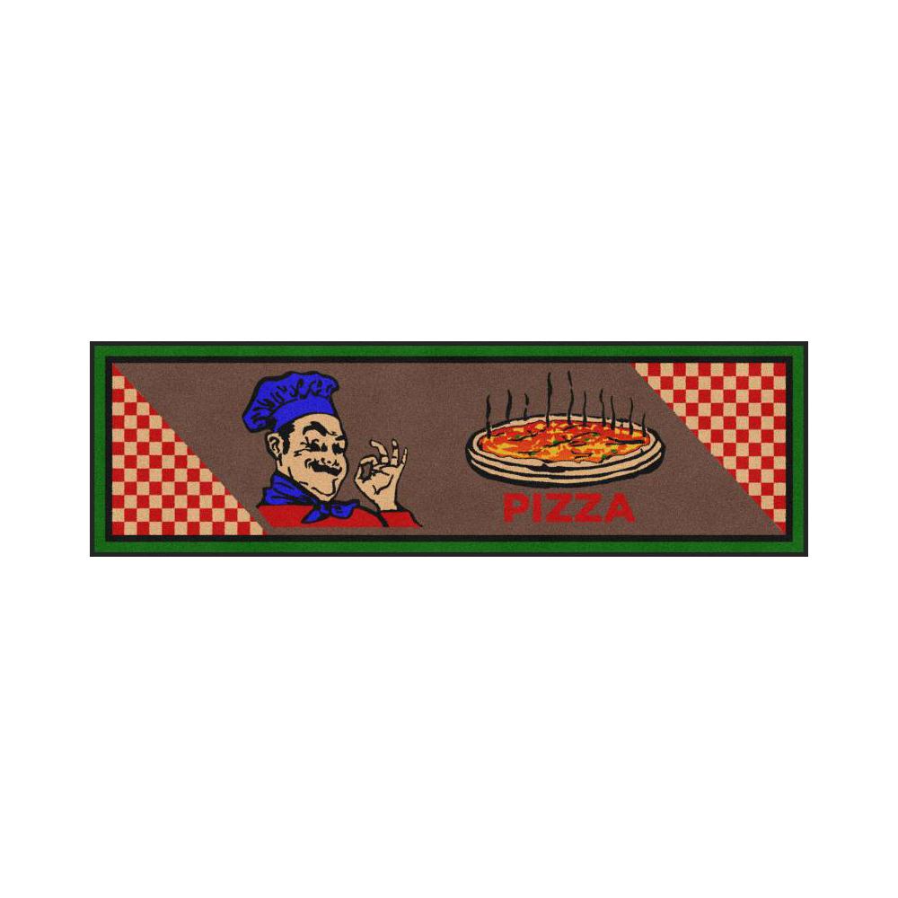 Dempsey Uniform pizza message mat design