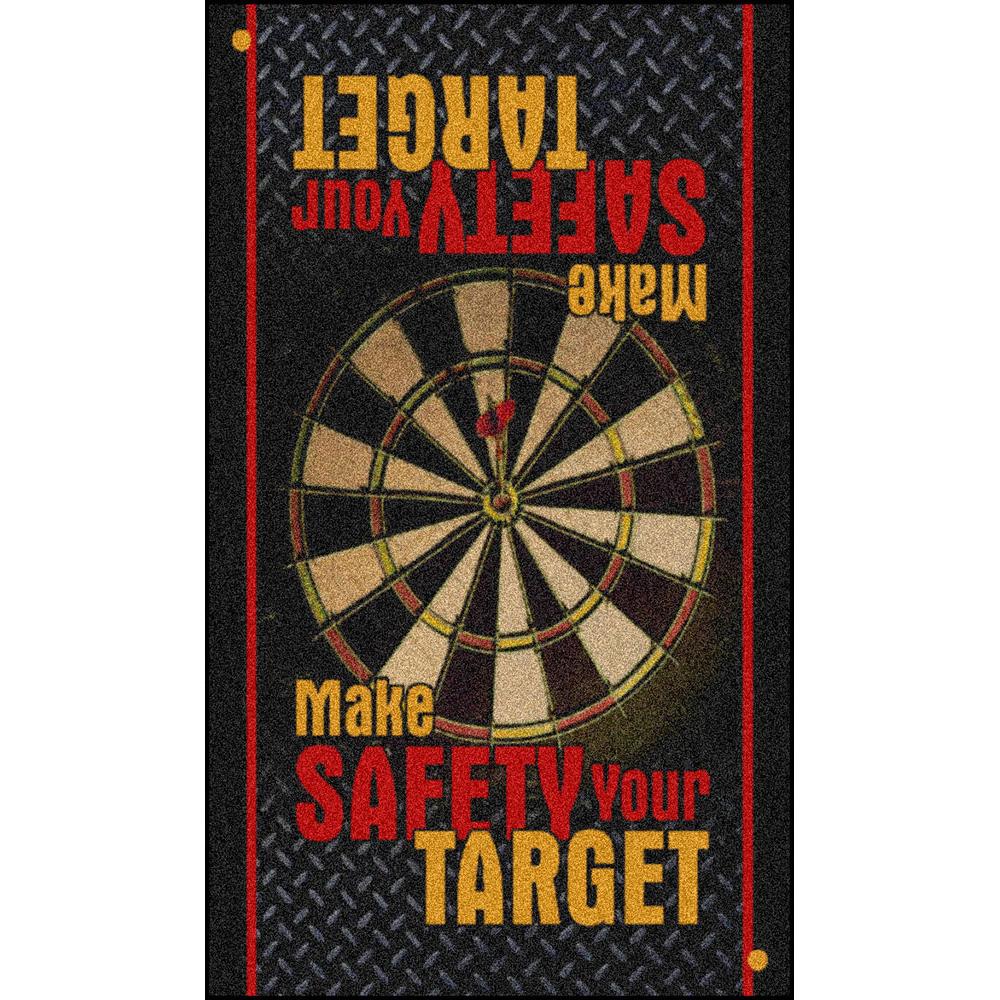 Dempsey Uniform safety message mat design