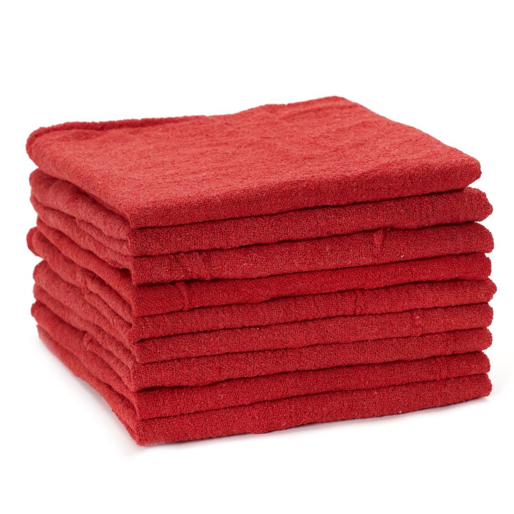 Folded Dempsey Uniform shop towel wipers