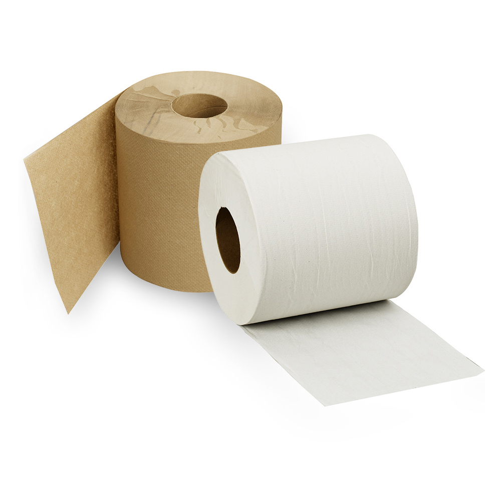 Paper towel rolls for use in Dempsey Uniform touch-free color-matching paper towel dispensers