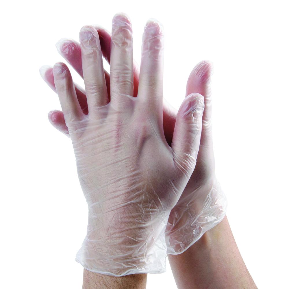 Dempsey Uniform vinyl disposable gloves