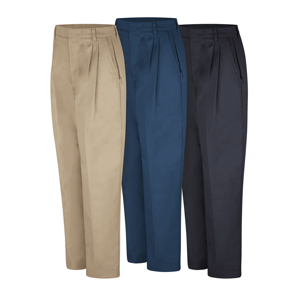Dempsey Uniform womens double-pleated pants in various colors