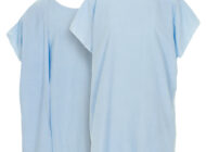 Blue Dempsey Uniform wraparound 3-armhole exam gowns