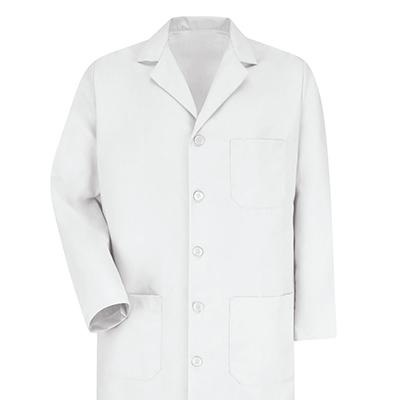 Dempsey Uniform Button Front Lab Coat